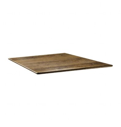 Topalit Smartline Tischplatte Viereckig | Atacama Kirschholz | Erhältlich in 2 Größen