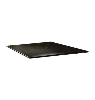 Topalit Smartline Tischplatte Viereckig | Zypern Metall | Erhältlich in 2 Größen