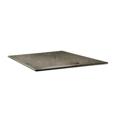 Topalit Smartline Tischplatte Viereckig | Beton | Erhältlich in 2 Größen