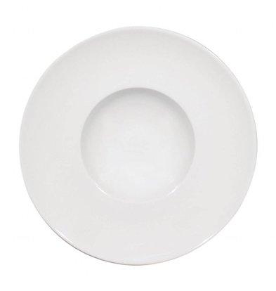 Saturnia Napoli Teller Ø240mm | Porzellan Weiß | 6 Stück