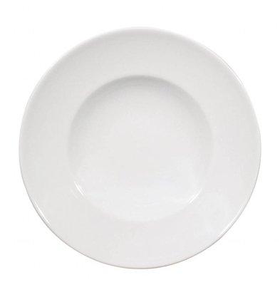 Saturnia Napoli Nudelteller Ø230 | Porzellan Weiß | 6 Stück