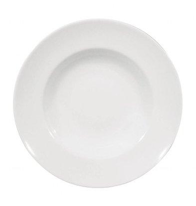 Saturnia Napoli Nudelteller Ø265 | Porzellan Weiß | 6 Stück