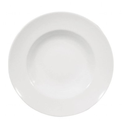 Saturnia Napoli Nudelteller Ø300 | Porzellan Weiß | 6 Stück