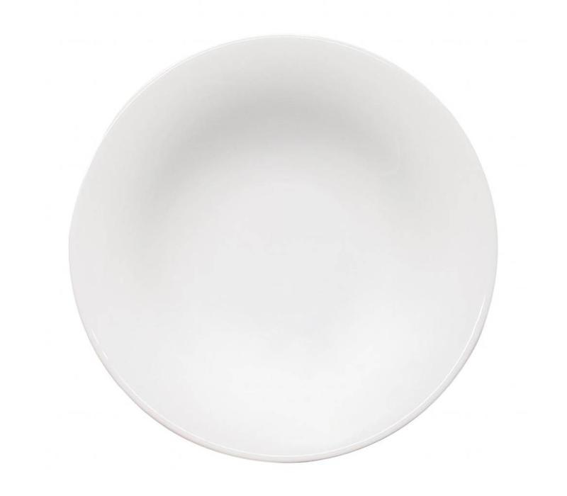 Saturnia Napoli Spaghetti-Nudelteller Ø260 | Porzellan Weiß | 6 Stück