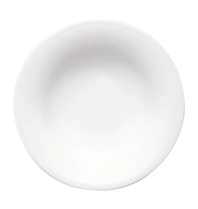Saturnia Napoli Spaghetti-Nudelteller Ø300 | Porzellan Weiß | 6 Stück