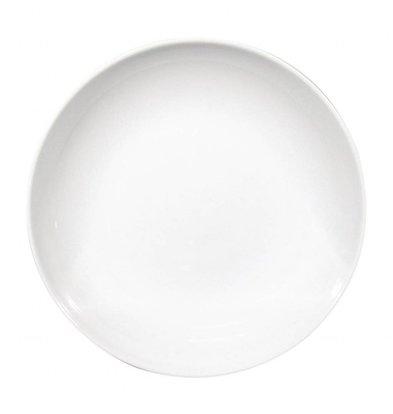 Saturnia Napoli Couscousteller Ø260mm | Porzellan Weiß | 6 Stück