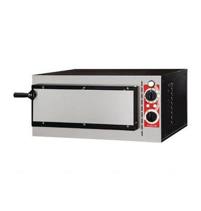 Gastro M Pizzaofen 1 Kammer | Elektro | Pizzen 32cm | 230V | 568x500x(h)280mm