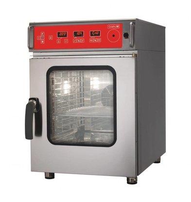 Gastro M Kombi-Dampfgarer | Reinigungssystem | 7,8kW/400V | 6 x 1/1 GN