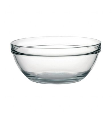 Arcoroc Salatschale Glas | 3,9 Liter | Ø260mm | 6 Stück