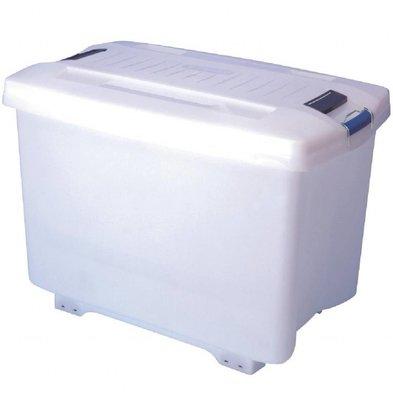 Araven Araven Vorratsbehälter mit Rollen | 90 Liter | 465x705x(h)480mm