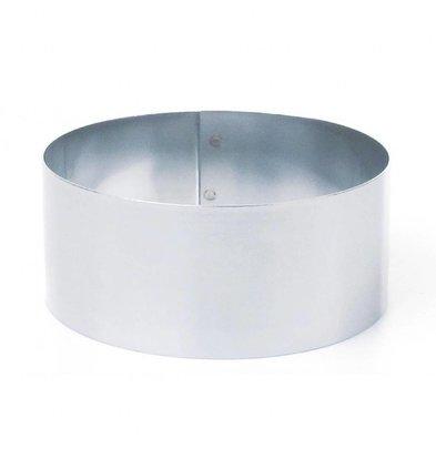 Matfer Mousse-Ring Edelstahl | 140x60mm