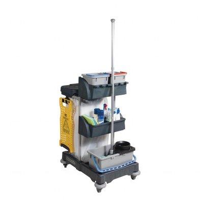 Numatic Reinigungswagen | 120 Liter Sackhalterung | 2x6 Liter Behälter