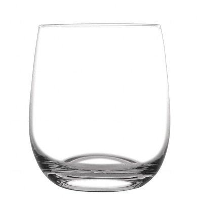 Olympia Gerundete Whiskygläser | 6 Stück | 31,5cl | Kristall