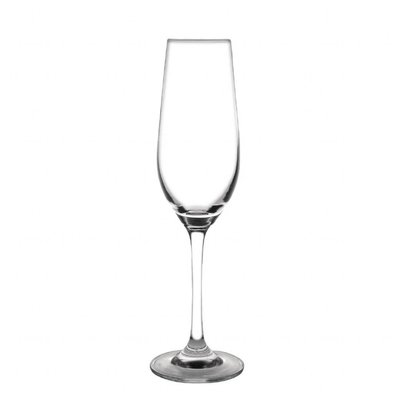 Olympia Champagnergläser | 6 Stück | 22,5cl | Kristall