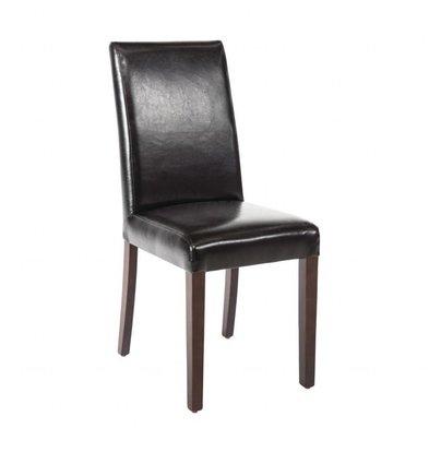 Bolero Esszimmerstühle | 2 Stück | Kunstleder und Birkenholz | Erhältlich in 2 Farben