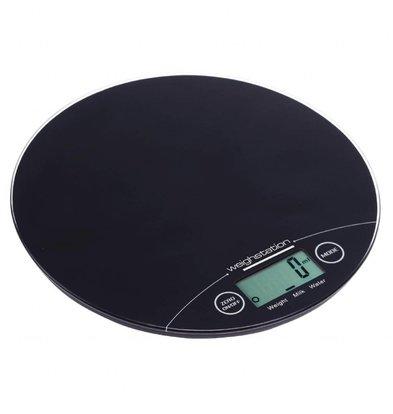 Weighstation Elektro-Waage | rund | Maximales Gewicht: 5kg