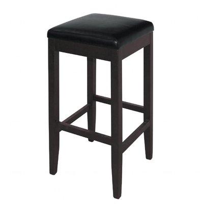 Bolero Barhocker | Sitzhöhe: 76cm | Kunstleder/Birkenholz | Erhältlich in 2 Farben