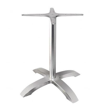 Bolero Tischfuß mit Fußkreuz | 68(H)cm | Aluminium