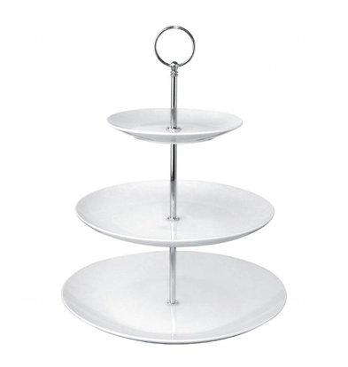 Olympia Etagere | 3 Etagen | 34,1 x 26,5(Ø)cm | Porzellan