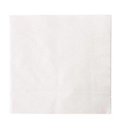 XXLselect Lunch-Papierservietten | 5000 Stück | 33 x 33cm | 1-lagig | Weiß