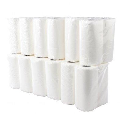 Jantex Küchenrolle | 24 Stück | 10m | 2-lagig | Weiß