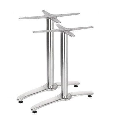 Bolero Doppeltischfuß | 67,3(H)cm | Aluminium