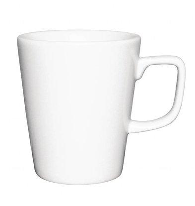 Athena Hotelware Kaffeebecher | 12 Stück | Porzellan | Erhältlich in 2 Größen