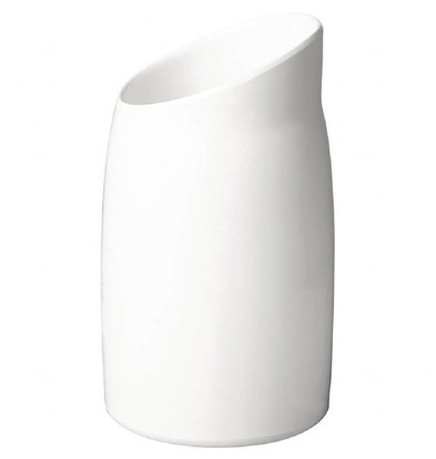 XXLselect Dressingkrug | 1L | 21,5 x 12(Ø)cm | Melamin | Weiß