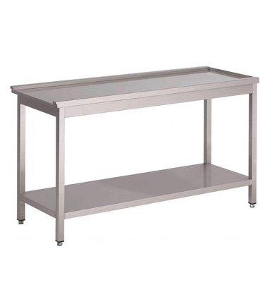 Gastro M Zufuhrtisch für Haubenspülmaschine | 85 x 60 x 59cm |