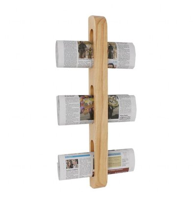 Olympia Zeitungsregal | 60,5 x 7 x 4,5cm | Holz