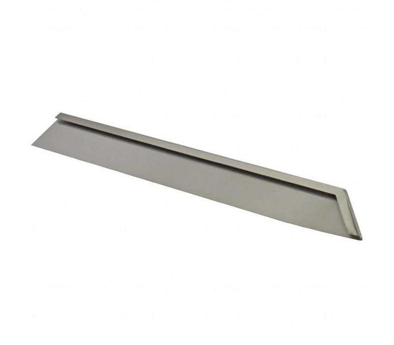 Gastro M Abschlußleiste rechts |  für Grillplatten | 600-Serie