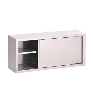 Gastro M Wandschrank mit Schiebetüren | Edelstahl | Erhältlich in 7 Größen