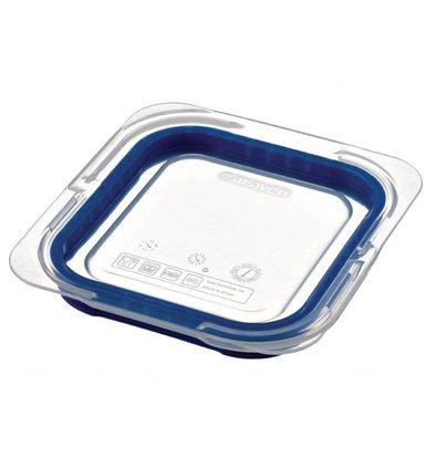 Araven Deckel für GN1/6 Lebensmittelbehälter | Blau