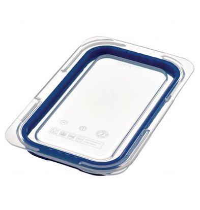 Araven Deckel für GN1/4 Lebensmittelbehälter | Blau