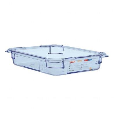 Araven GN1/2 Lebensmittelbehälter | Blau | Erhältlich in 4 Tiefen