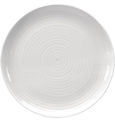 Intenzzo Coupeteller | 4 Stück | 31(Ø)cm | Porzellan| Weiß