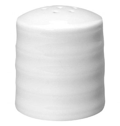 Intenzzo Pfefferstreuer | 4 Stück | 5(Ø)cm | Porzellan | Weiß
