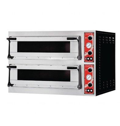 Gastro M Pizzaofen | 12kW/400V | 2 Kammern