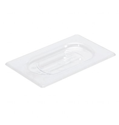 Gastro M Polycarbonat Deckel für GN Behälter GN1/9 | Polycarbonat
