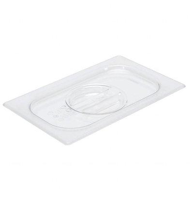 Gastro M Polycarbonat Deckel für GN Behälter GN1/4 | Polycarbonat