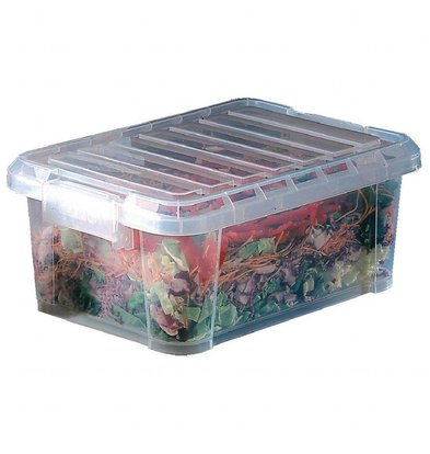 Araven Lebensmittelbehälter mit Deckel | Erhältlich in 2 Größen