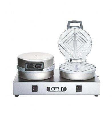 Dualit Kontakttoaster | 1,6kW/230V | doppelte Platten