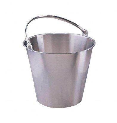 Jantex Edelstahleimer | 12 Liter