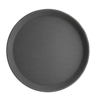 Kristallon Rundes Serviertablett | Antirutsch | Fiberglas | Erhältlich in 3 Größen