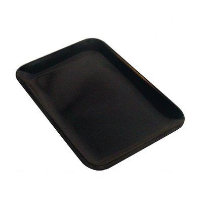 Dalebrook Rechteckiges Tablett | Melamin | Schwarz | Erhältlich in 2 Größen