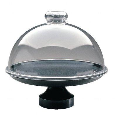 Dalebrook Runder Kuchenständer | 33(Ø)cm | Schwarz