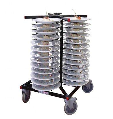 Jackstack Tellerwagen für 52 Teller