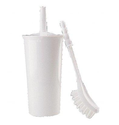 Jantex Toilettenbürste mit Halter | Kunststoff