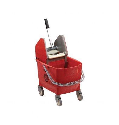 Rubbermaid Moppeimer mit Mopppresse | Fahrgestell | 25L | Erhältlich in 3 Farben