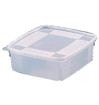 Bourgeat Behälter | GN 1/6  | 6er Pack | Kunststoff | Erhältlich in 3 Größen